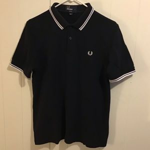 Fred Perry M3600 dark navy/white size M